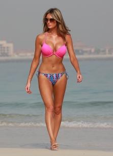 EXCLUSIVE Georgina Dorsett and Tom Clevery Sighting - Dubai