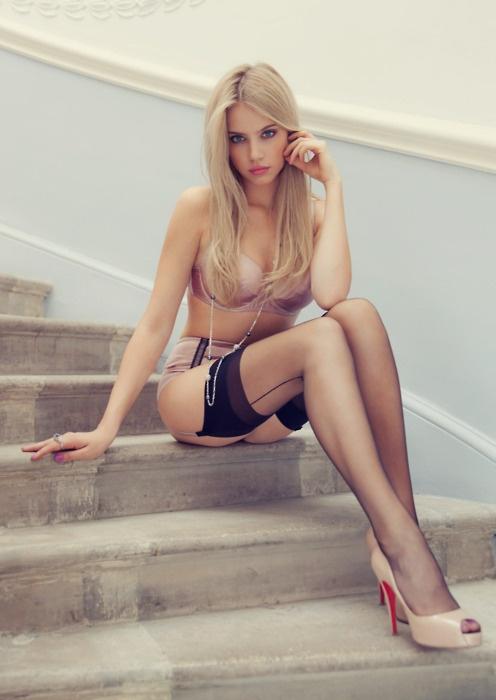 Dirty blondes black cocks
